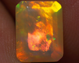1.47 CT 9X7 MM Top Quality Faceted Cut Ethiopian Opal-ECF2