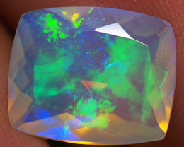 2.97 CT 12X10 MM Top Quality Faceted Cut Ethiopian Opal-ECF18