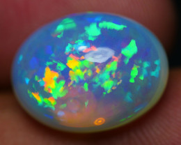 8.75 CRT STUNNING 3D FLORAL PATTERN METALIC COLOR WELO OPAL-