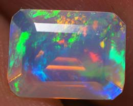 1.13 CT Top Quality Faceted Cut Ethiopian Opal-ECF39
