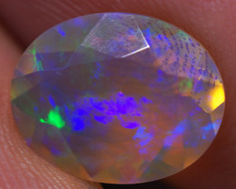 1.45 CT 10X8 MM Top Quality Faceted Cut Ethiopian Opal-ECF71