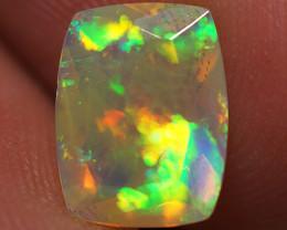 1.07 CT Top Quality Faceted Cut Ethiopian Opal-ECF73
