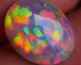 8.50 CRT RARE! ULTRA BRIGHT NEON 3D RAINBOW COMPLETE COLOR WELO OPAL-