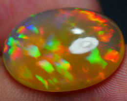 9.85 CRT BEAUTIFULL HOLOGRAM PUZZLE PATTERN MULTICOLOR WELO OPAL-