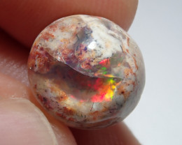 5.81ct Mexican Matrix Cantera Multicoloured Fire Opal
