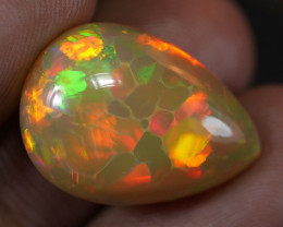 14.70 CT GORGEOUS WELO OPAL CELLED/HONEYCOMB PATTERN