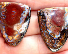 70.70CTS BOULDER OPAL PAIRS POLISHED  STONES KOPR29