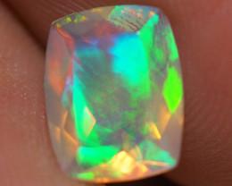 1.18 CT 9X7 MM Top Quality Faceted Cut Ethiopian Opal-ECF107