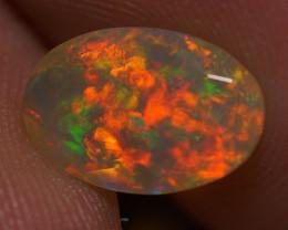 1.28 CT  Top Quality Faceted Cut Ethiopian Opal-ECF128