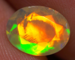 9X7 MM Top Quality Faceted Cut Ethiopian Opal-ECF141