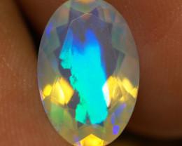 2.35 CT  Top Quality Faceted Cut Ethiopian Opal-ECF157