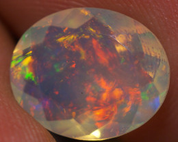 1.97 CT Top Quality Faceted Cut Ethiopian Opal-ECF189