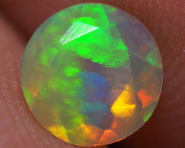 0.40 CT  Top Quality Faceted Cut Ethiopian Opal-ECF221
