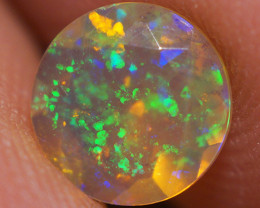 6X6MM Top Quality Faceted Cut Ethiopian Opal-ECF222