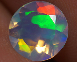 7X7 MM Top Quality Faceted Cut Ethiopian Opal-ECF233