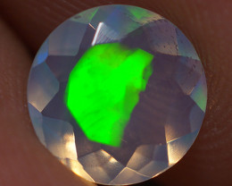 0.70 CT 7X7 MM Top Quality Faceted Cut Ethiopian Opal-ECF236
