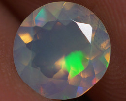 0.70 CT 7X7 MM Top Quality Faceted Cut Ethiopian Opal-ECF237
