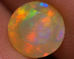 7X7 MM Top Quality Faceted Cut Ethiopian Opal-ECF239