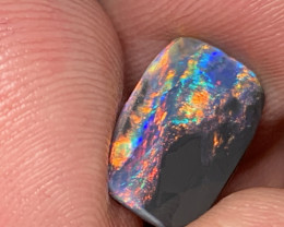 Stunning Black Opal Rub;, Lightning Ridge Black Opal, #603