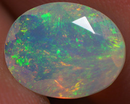 1.42 ct Top Quality Welo  Ethiopian Faceted Opal -ECF86