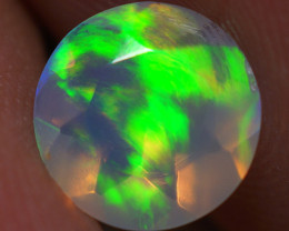 7x7 MM Top Quality Welo  Ethiopian Faceted Opal -ECF242
