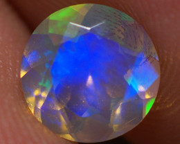 7X7 MM Top Quality Faceted Cut Ethiopian Opal-ECF252