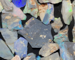 450 CTs of Solid/Natural Lightning Ridge Rough Opal, #616
