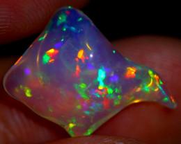 2.33cts Natural Ethiopian Welo FlashFire Freeform Opal HH97