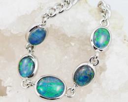 Modern Design 5pc  Oval Opal Triplet Bracelet  OPJ 2006