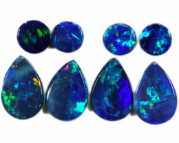 3.85 CTS DOUBLET OPAL PAIRS [SEDA2346]