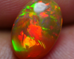 1.15 CRT BRILLIANT BROAD FLASH FLOWER FIRE PLAY COLOR WELO OPAL
