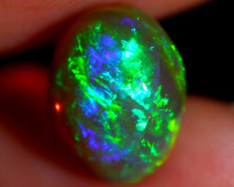 3.19cts Natural Ethiopian Welo Solid Opal JJ85