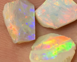 8 Cts of High End White Cliffs Rough/Rub Opals,#640