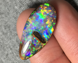 Amazing Gem Crystal Wood Replacement Boulder Opal