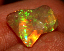 1.75 ct Natural Ethiopian Welo Fire Freeform Welo Opal Carvin 825