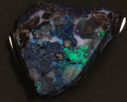 50.20ct  -3#  -  Andamooka Matrix Opal Rough-Treated [22098]
