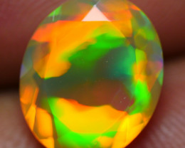 2.10 CRT WONDERFULL FACETED ROLLING FLASH NEON PLAY COLOR WELO OPAL-
