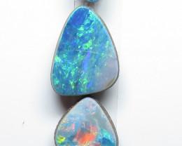 4  Stone Australian Doublet Opal Freeform Parcel
