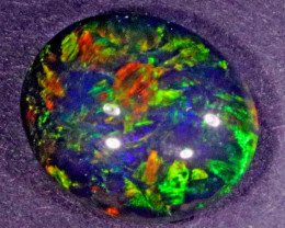 8.60 CTS  GEM BLACK OPAL FROM LR -