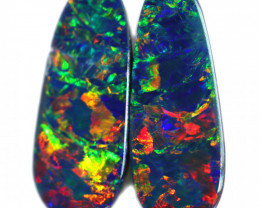4.47 CTS DOUBLET OPAL PAIRS [SEDA2373]