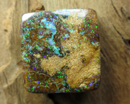 48cts, BOULDER MATRIX OPAL~BRIGHT GEM!