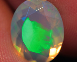 1.91 CT 11X9 MM Top Quality Welo  Ethiopian  Faceted Opal -ECF368