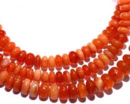 30 CTS CTS MEXICAN FIRE OPAL STRANDS FOB-799