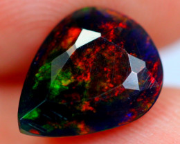 1.62cts Ethiopian Smoked  Faceted Welo Opal / WW71