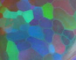 5.50 CRT WONDERFUL BLUE HONEYCOMB PRISM FULL COLOR WELO OPAL