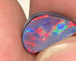 2.9 CTs RED DOUBLET; Australian Natural Opal Doublet, #689