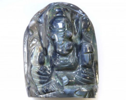 19.5  CTS OPAL CARVING- GANESH LO-188