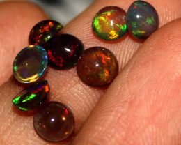 2.05 Crts Natural Ethiopian Welo Fire Smoked Opal Cabochon Lot 216