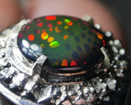 RARE HONEYCOMB PATTERN SPECTACULAR WELLO  OPAL