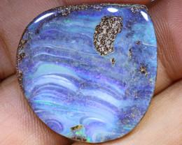 31.82 carats  Boulder Opal Polished ANO 679